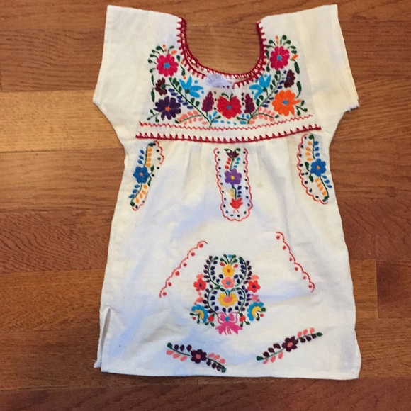55bae424f38a9b Authentic Mexican dress. M 5aaae5708af1c5f2abf2571c